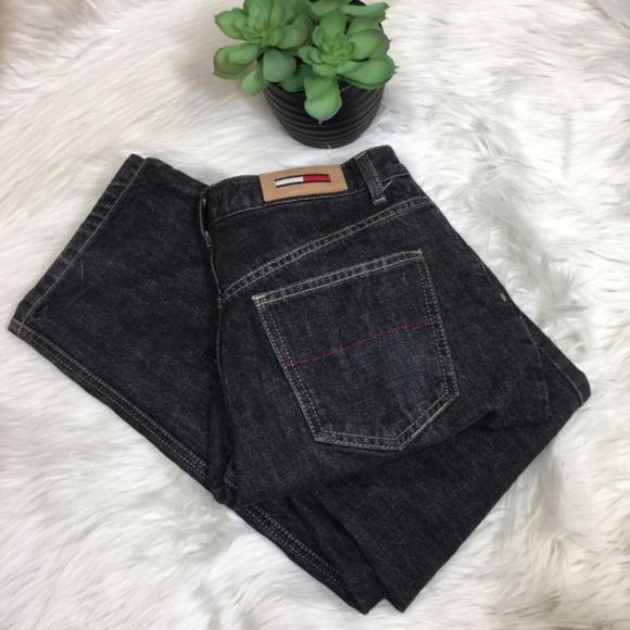 Tommy Hilfiger Denim - Tommy Hilfiger Black Jeans Size 6